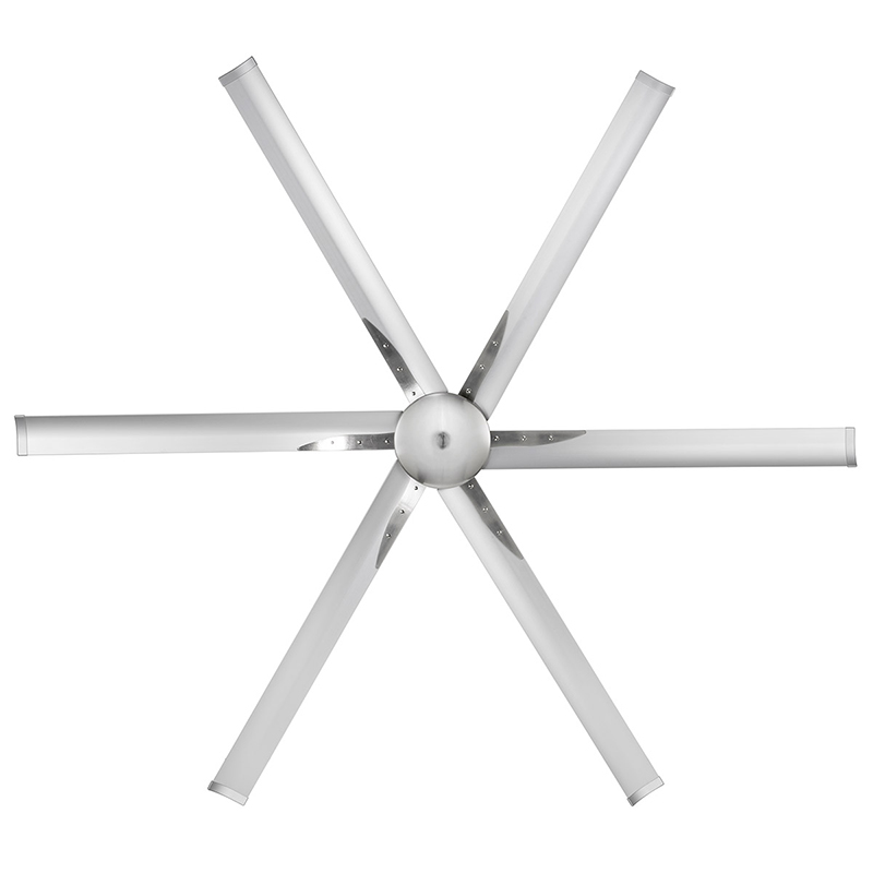 IC Lighting - Maelstrom 84u2033 Industrial Style DC Ceiling Fan with Remote