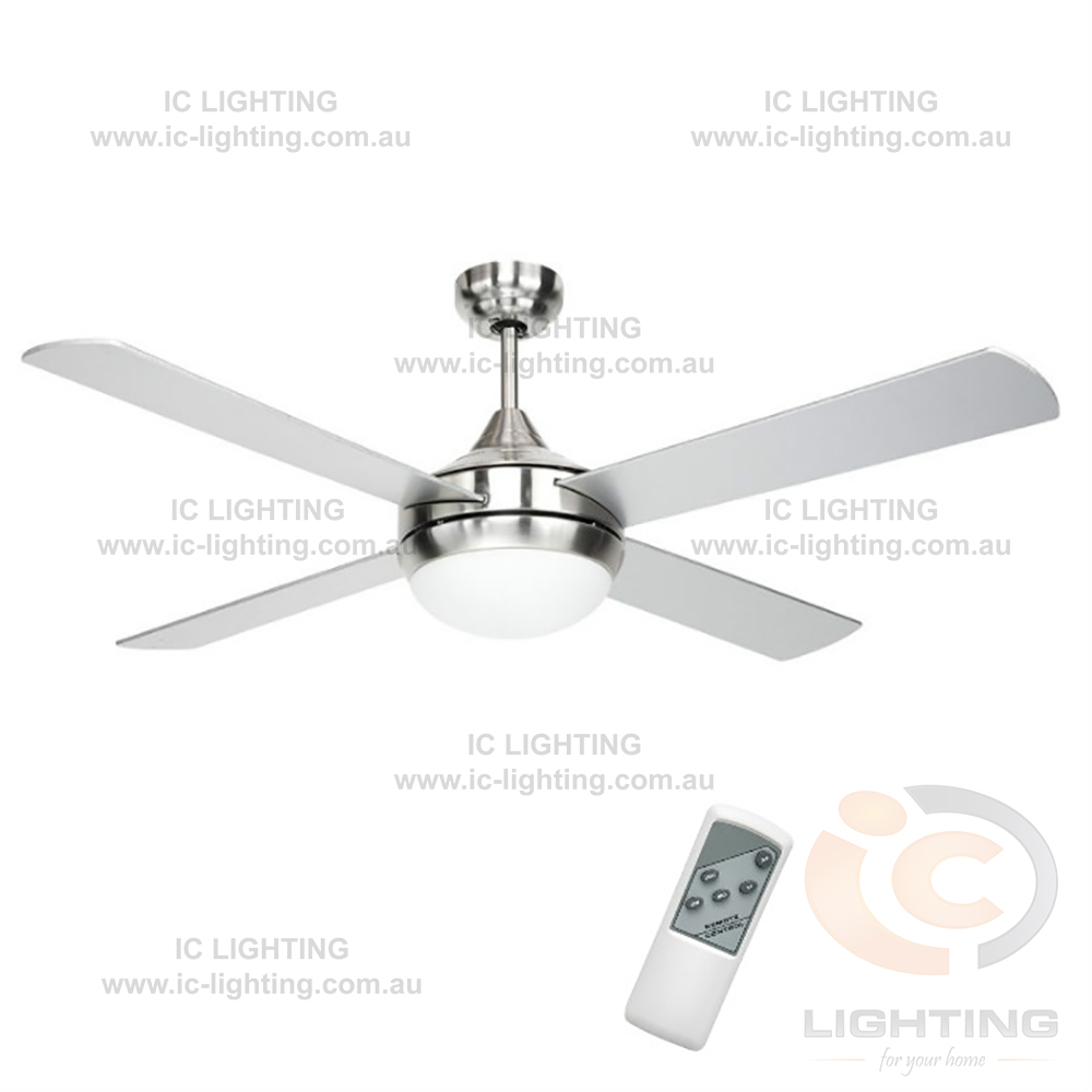 Brilliant Lighting Brighton 52 Timber Ceiling Fan With 2xe27 Light Kit And Remote Ic
