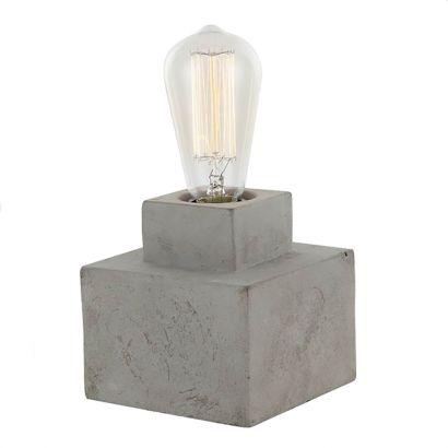 CLA Lighting - Aztec 2 Concrete Table Lamp
