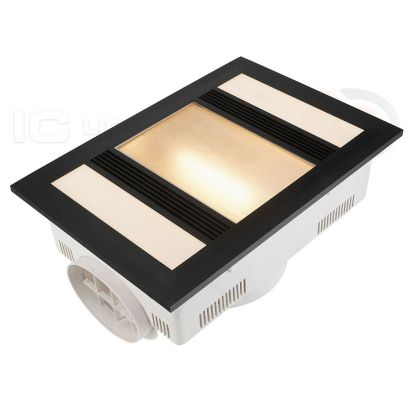 Brilliant Lighting Marvel 3 in 1 Exhaust Fan With LED Light
