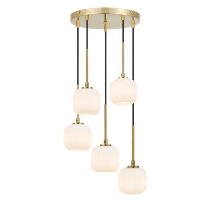 Telbix Bobo 5 Light Pendant Light